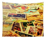 Australian Postal Background Tapestry