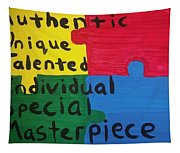 Autism Art Tapestry