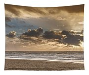 Dutch Autumn Storm Panorama Tapestry