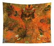 Autumn Abstract 103101 Tapestry
