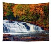Autumn At Buttermilk Falls Tapestry
