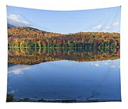 Autumn At Heart Lake Tapestry