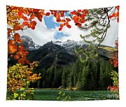 Autumn At String Lake Tapestry