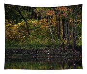 Autumn At Wrights Pond Tapestry