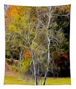 Autumn Birch Tapestry