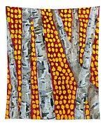 Autumn Birch Tapestry