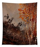 Autumn Birches  Tapestry