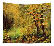 Autumn Bliss Of Color Tapestry