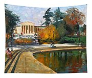Autumn By Delaware Lake Tapestry