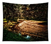 Autumn By The Creek Tapestry