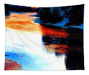 Autumn Down By The River Tapestry