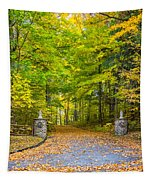 Autumn Entrance 3 Tapestry