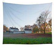 Autumn - Farm At Valley Forge Tapestry