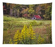Autumn Fields Tapestry