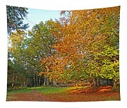 Autumn Fire Tapestry