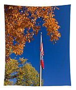 Autumn Flag Tapestry