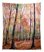 Autumn Forrest Tapestry