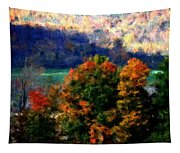 Autumn Hedgerow Tapestry