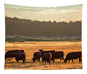 Autumn Herd Tapestry