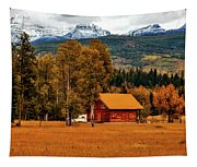 Autumn Hideaway Tapestry