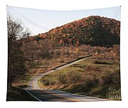 Autumn Hill Near Hancock Maryland Tapestry