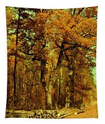 Autumn In Forest Tapestry