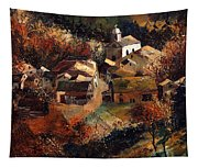 Autumn In Frahan Tapestry