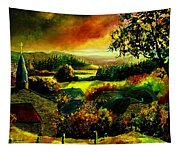 Autumn In Our Village Ardennes Tapestry