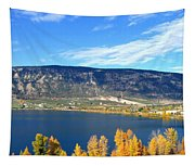 Autumn In Oyama Tapestry