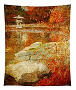 Autumn In The Gardens Tapestry