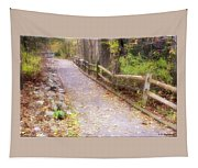Autumn In The Park Tapestry