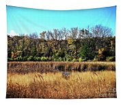 Autumn In The Wetlands Tapestry
