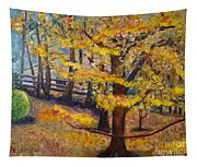 Autumn By Karen E. Francis Tapestry