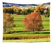 Autumn Landscape Dream Tapestry