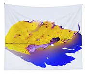 Autumn Leaf Abstract Tapestry