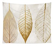 Autumn Leaves IIi Fallen Gold Tapestry