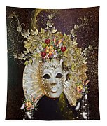 Autumn Mask Tapestry