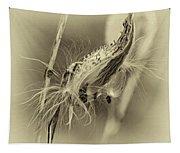 Autumn Milkweed 7 - Sepia Tapestry
