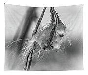 Autumn Milkweed 9 - Bw Tapestry