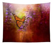 Autumn Monarch Tapestry
