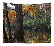 Autumn Mountains Tapestry