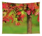 Autumn Oak Tree Tapestry