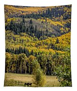 Autumn On A Colorado Range Tapestry