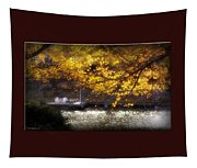 Autumn On The Cove Tapestry