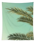 Autumn Palms II Tapestry