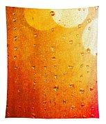 Autumn Raindrops Tapestry