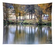 Autumn Reflection 16 Tapestry