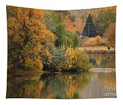 Autumn Reflection 41 Tapestry