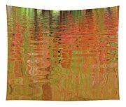 Autumn Reflections Abstract Tapestry