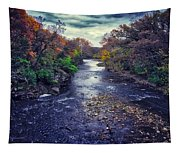 Autumn Riders On The Storm Tapestry